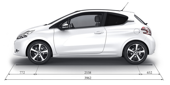 Technical Data And Specifications Peugeot 208 5 Door Small City Car